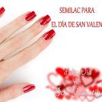 Semilac para el día de San Valentín: esmaltes de uñas rojos