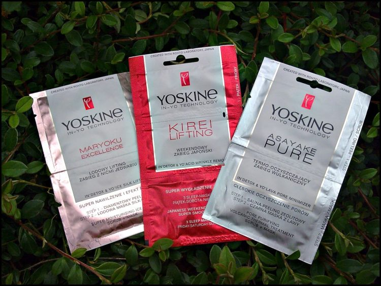 Yoskine In-Yo Technology: Tratamiento facial en sobrecitos